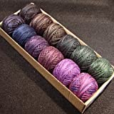 Valdani Perle Cotton Size 12 Midnight Fantasy - 12 Balls