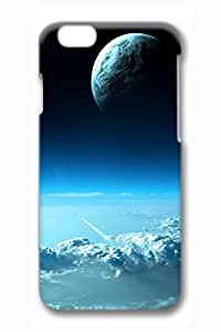Beautiful Space View Slim Hard Cover for iPhone 6 Case (4.7 inch) PC 3D