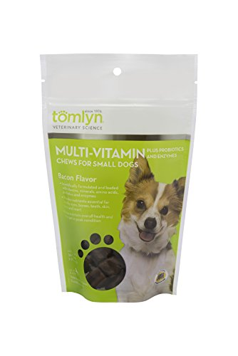 Tomlyn Multi-Vitamin Chews For Small Dogs