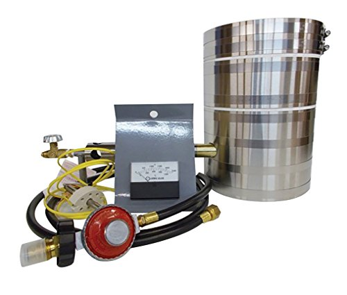 KK-8 Kwik Kiln Propane Furnace Kit Scrap Jewelry Precious Metal Gold Silver Copper Aluminum Casting Smelting Furnace Kit
