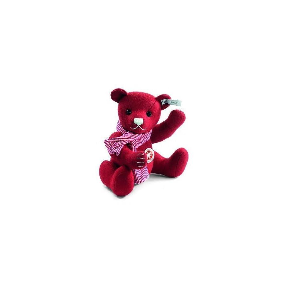 Steiff Felt Red Christmas Teddy Bear Toys & Games
