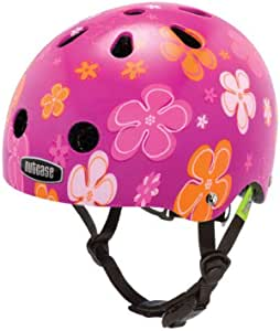 Nutcase BNUT-1001-XXS Baby Nutty Petal Power Street Helmet, Pink