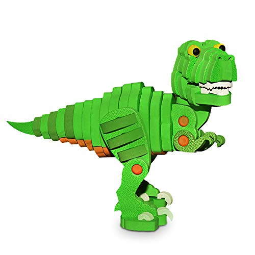 (WIKI Birthday Gifts for 2-10 Year Old Boys Girls, Tyrannosaurus Dinosaur Puzzles for Kids Learning Toys for 2-10 Year Old Boys Girls Gifts Age 2-10 WKUSBWL02)