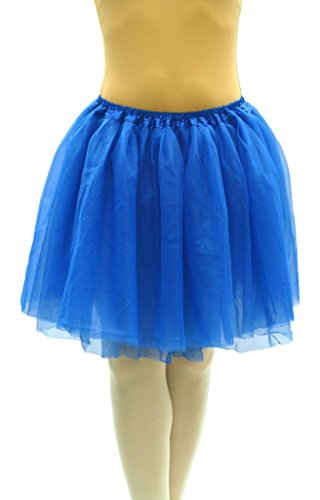 Dancina Blue Tutu Skirts for Women Regular 2-18