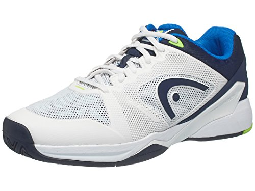 HEAD Revolt Pro 2.0 Men's Tennis Shoes White/Blue 9.5
