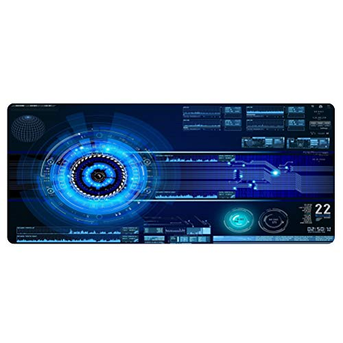 Extend Mouse Pad Gaming Oversized Mousepad Custom Mouse Mat XL Anime Non-Slip Rubber Mousepad Computer Mat for Desk Office&Home Circuit Board Mouse Pad 27.56*11.81in