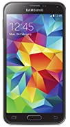 Samsung Galaxy S5 G900V 16GB Verizon + GSM Unlocked Smartphone w/ 16MP Camera, Black w/ 1 YEAR EXTENDED CPS LIMITED WARRANTY ($34.99 VALUE) (Certified Refurbished)