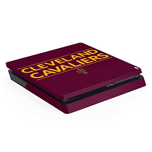 Cleveland Cavaliers PS4 Slim (Console Only) Skin - Cleveland Cavaliers Standard - Maroon | NBA X Skinit Skin
