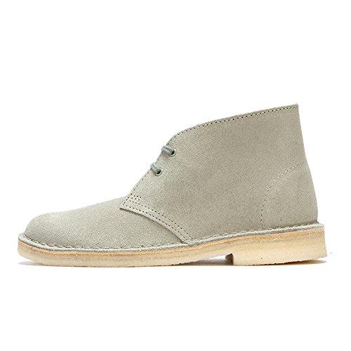 Clarks Desert Boot, Derby femme - Vert (Pale Green Suede), 40 EU