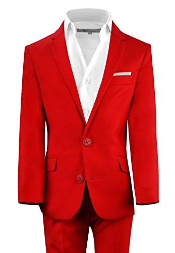 First Class Slim Fit Suits Lightweight Style. Presented by Baby Muffin (16, Fiery Red) (16 Muffins)