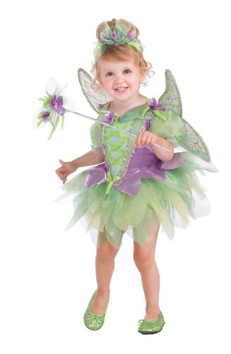 [Rubie's Deluxe Tutu Fairy Costume, Purple, Toddler] (Tinkerbell Fairy Costumes For Women)
