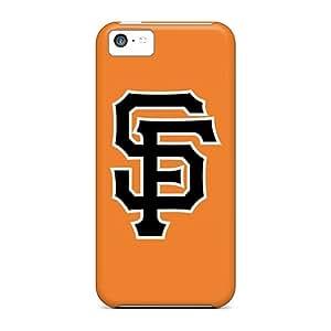 LauraAdamicska Apple Iphone 5c Protector Hard Cell-phone Cases Custom Trendy Baseball San Francisco Giants Image [dZr14307Dgit]
