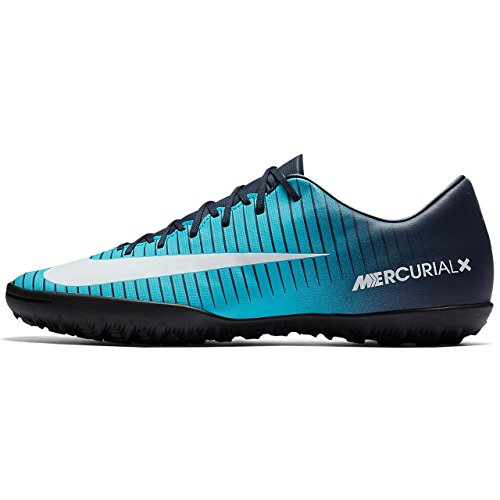 Price comparison product image NIKE MercurialX Victory VI TF Men's Soccer Turf Shoe (6.5 D(M) US)
