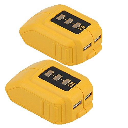 dcb090-12v-20v-usb-power-source-for-dewalt-xr-max-li-ion-battery-144v-18v-20v-two-packs