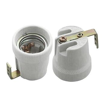 Häufig E27 Keramik Fassung 230V mit Bügel HLDR-E27-F: Amazon.de: Beleuchtung ZN38