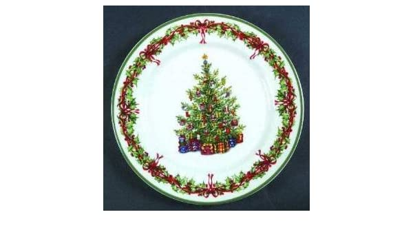 Amazon.com   Dinner Plate by Christopher Radko/ Holiday Celebrations ...