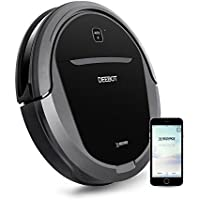 ECOVACS DEEBOT Pro Robot Vacuum Cleaner with Strong Suction, for Pet Hair, Low-Pile Carpet, Bare Floors, WiFi Connected