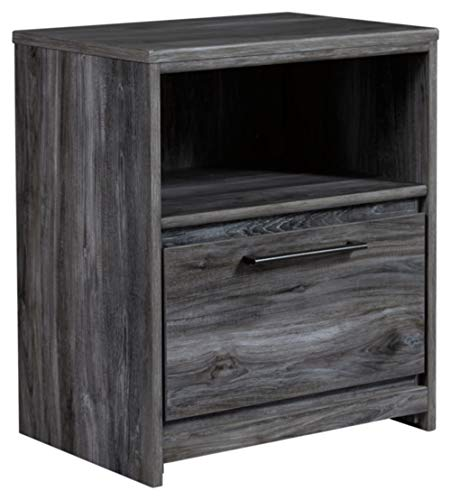 Signature Design by Ashley B221-91 Baystorm Nightstand, Gray