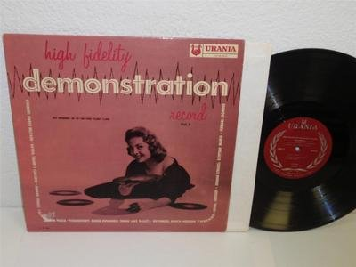VARIOUS URANIA High Fidelity Demonstration Record Vol.II LP UCS 56 VG+ frequency