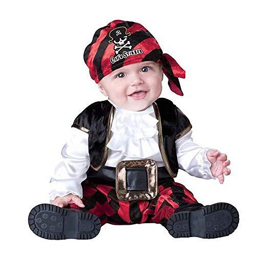Ytwysj Halloween Costumes for Baby Boys Girls,Baby Boy's Count Cutie Bat Vampire Pirate Christmas Dress Up Costume -