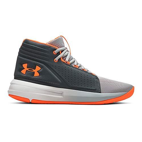rade School Torch Mid Basketball Shoe, Mod (102)/Pitch Gray, 5 M US Big Kid ()