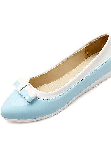 De Azul Uk6 Plano Blue Eu39 5 Cn39 Puntiagudos us8 us7 Yellow Semicuero Zq Cn38 5 Mujer Casual Yyz Planos Uk5 Amarillo Zapatos Tac¨®n Eu38 qwxXvn7FEZ