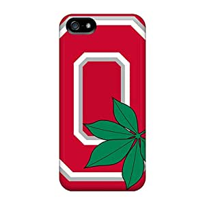 Apple Iphone 5/5s ETS2710pBrJ Custom Attractive Ohio State Skin Best Cell-phone Hard Cover -customcases88