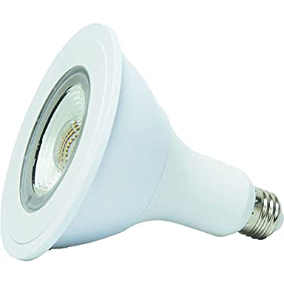 EcoSmart 90W Equivalent Bright White (3000K) PAR38 LED Flood Light Bulb