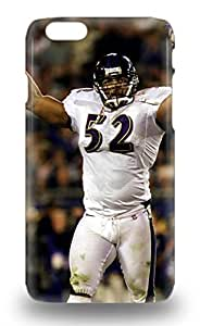 NFL Baltimore Ravens Ray Lewis #52 3D PC Case Compatible With Iphone 6 Hot Protection 3D PC Case ( Custom Picture iPhone 6, iPhone 6 PLUS, iPhone 5, iPhone 5S, iPhone 5C, iPhone 4, iPhone 4S,Galaxy S6,Galaxy S5,Galaxy S4,Galaxy S3,Note 3,iPad Mini-Mini 2,iPad Air )
