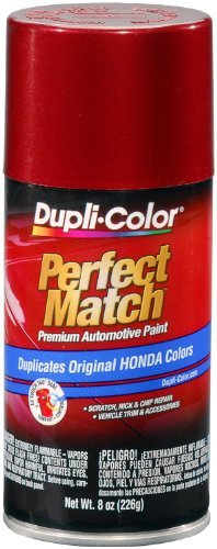 Dupli-Color BHA0959 Bordeaux Red Metallic Honda Exact-Match Automotive Paint - 8 oz. Aerosol by - Mall Hours Van