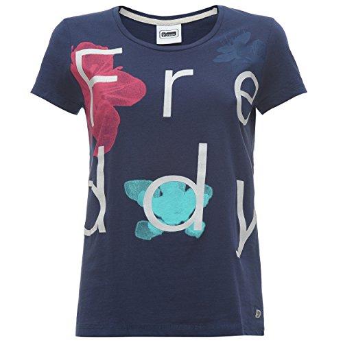 Mujer Camiseta Freddy Toffee7 Camiseta Toffee7 Freddy Mujer Turquesa wzYXw