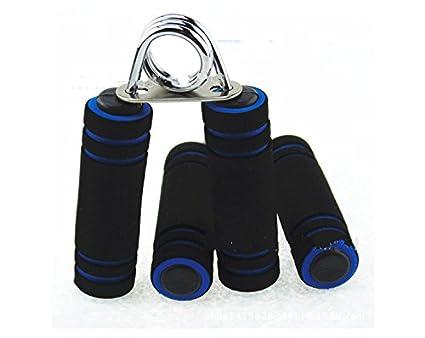 Empuñadura de resorte para ejercitar muñecas, brazos y antebrazos, aumenta la fuerza, color