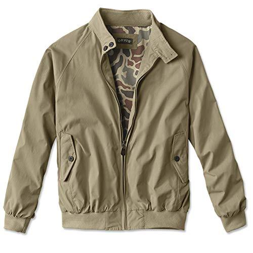 Orvis Men's Weatherbreaker Jacket/Weatherbreaker Jacket, Khaki Camo, ()