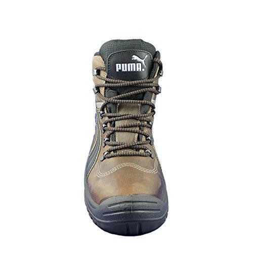 Puma - Calzado de protección de Piel para hombre Marrón - marrón