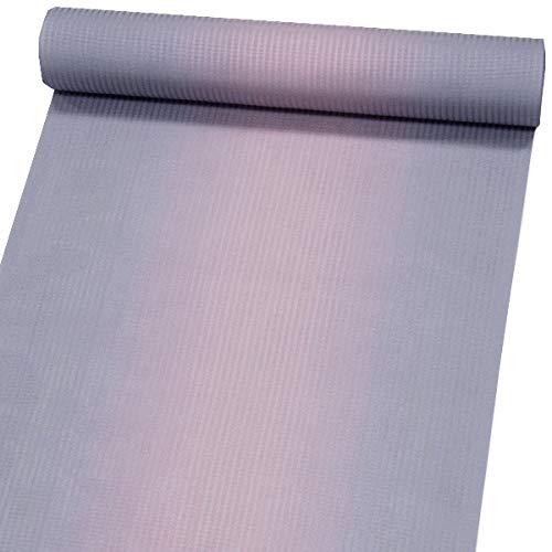 反物 シースルーコート すかし織【グレー×灰ピンク ぼかし 11395】絹100% はっ水加工済 雨コート 西陣織