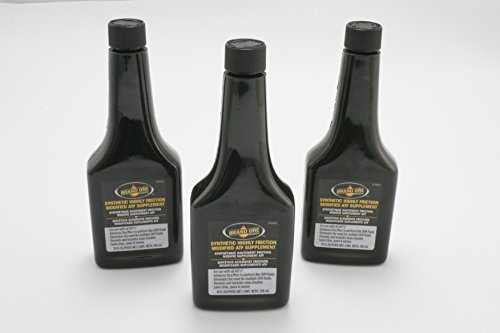 Lube Brand One Highly Friction Modified Automatic Transmission Protect Black 3 pack by BrandOne