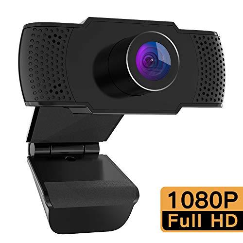 🥇 M Mehoom Webcam 1080P con Micrófono para PC