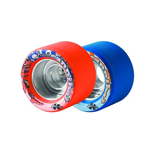Sure-Grip Cannibal Wheels - Orange Hard