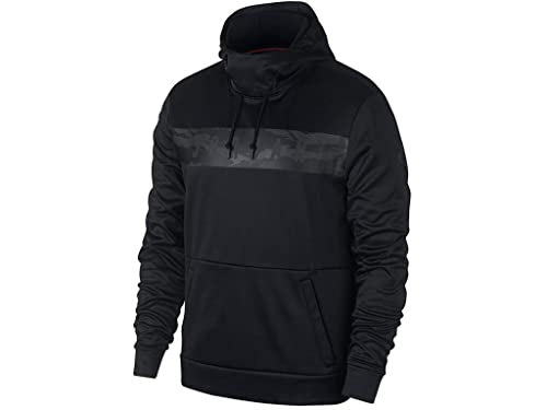 bde8560fb65d50 Jordan 23 Alpha Therma Pullover Hoodie Mens  Amazon.co.uk  Clothing