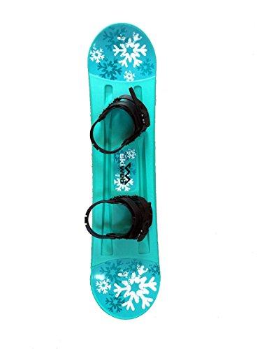 Kid's Plastic Starter Snowboard With Bindings 95cm