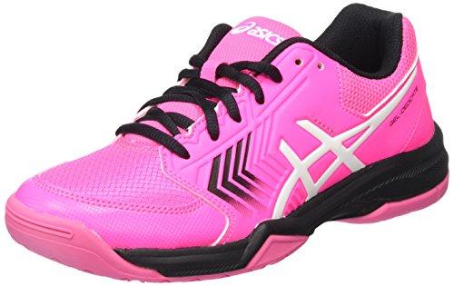 7163f85c4 Asics Women Zapatillas De Dedicate Pinkblackwhite  s Gel Tenis Pk0wOn