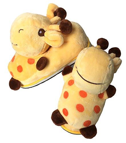 per di giraffes Animale della Le Forma Peluche Scarpe Caldi Le Inverno casa baiou Le 3D dell'interno Sveglia Adattano Donne della Animali Cosplay di Pantofole v18nRwgx