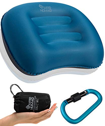 Suitednomad Inflatable Camping Pillow Ultralight
