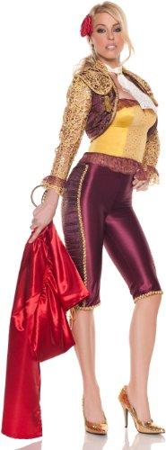 Mystery House Matador Costume, Gold/Burgundy, Medium - Matador Costume Amazon