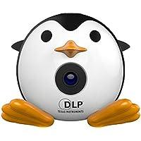 LOUSHI New Mini Penguin Projector Portable Projector Video Multimedia Home Business