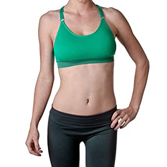 Riverberry Women's Actives Sports Bra, Green, Large/X-Large