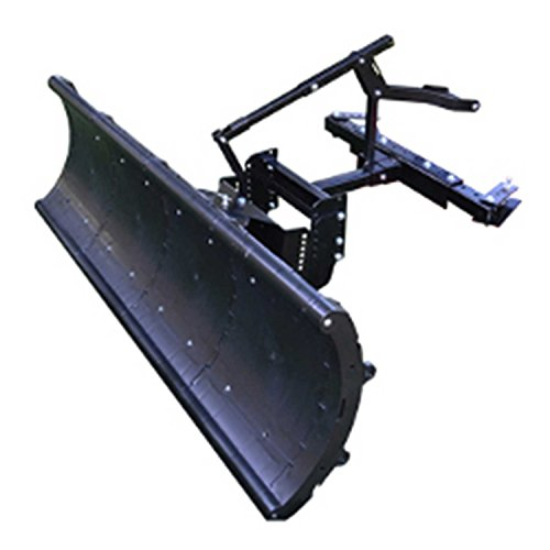 Nordic Auto Plow NAP-ZC4 Lightweight Rounded Edge 64'' Snow Plow: Zero Turn Mowers by Nordic Auto Plow LLC