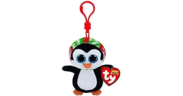 Amazon.com: TY Beanie Babies Boos 35106 Penélope El pingüino ...