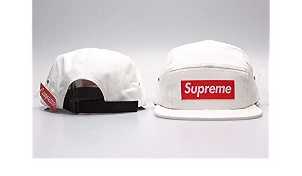 Supreme 5 Panel Unisex Hip Hop marca nueva Fans apoyo sombreros ...