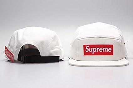 Supreme 5 Panel Unisex Hip Hop marca nueva Fans apoyo sombreros gorra gorras de béisbol